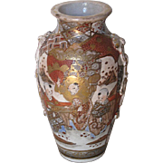 Antique Japanese Satsuma Vase