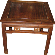 Beautiful Chinese Walnut Square Table
