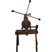 Old Wood Yarn Wheel