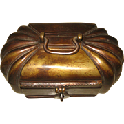 Chinese  Bronze Melon Shape-Box