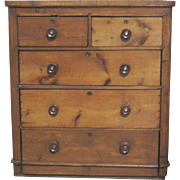 Antique English Pine Chest