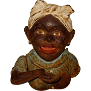 Rare Victorian Mechanical Bank, Signed John Harper of Aunt Jemima""