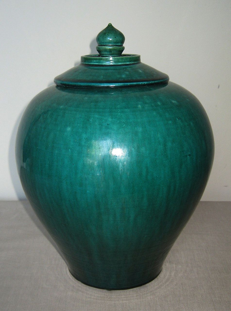 Chinese Green Glazed Pottery Jar From Dynastycollections