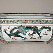 Chinese Famille Verte Porcelain Bowl, Circa 1900