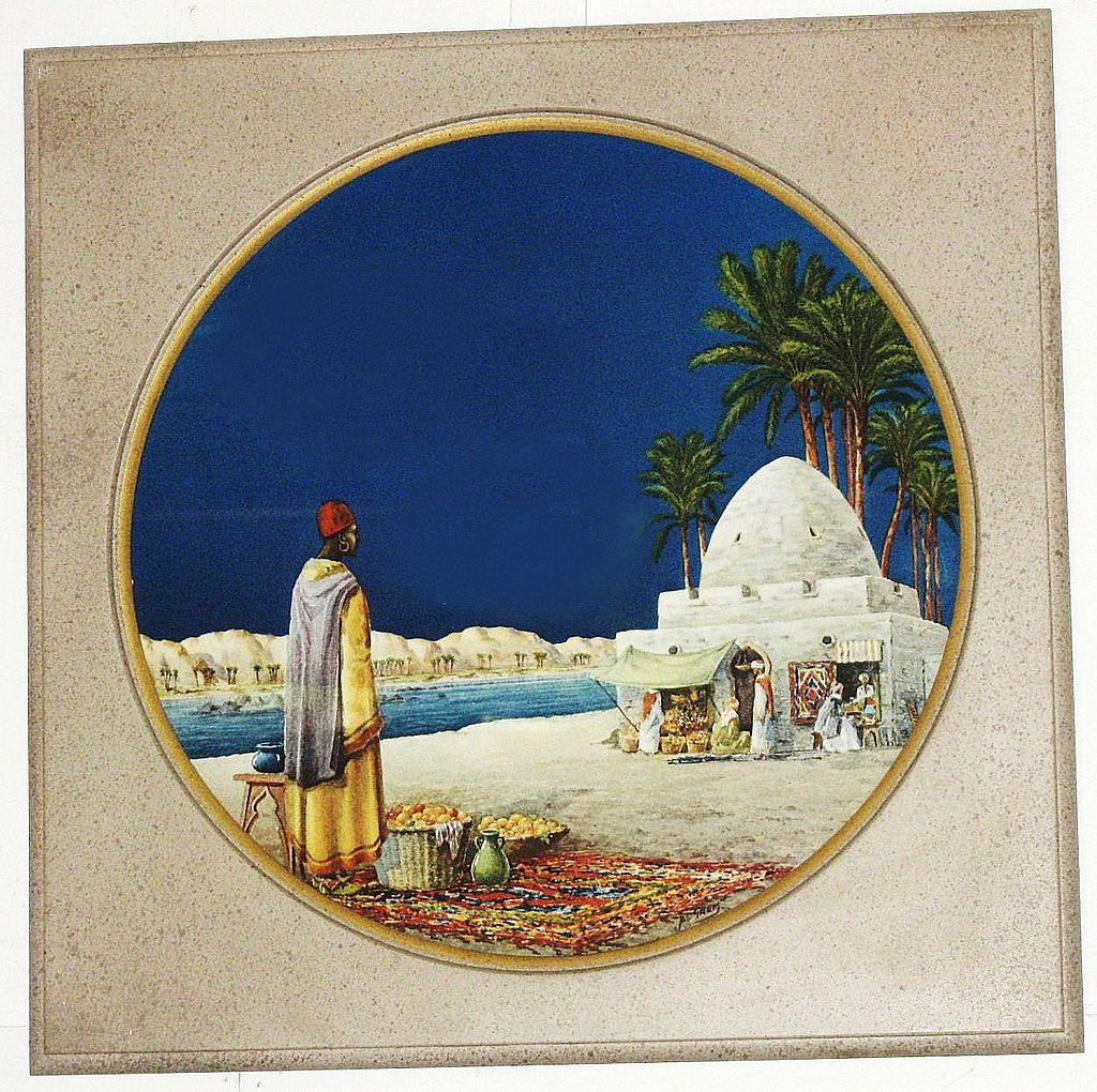Exquisite 1940's Prints of Egyptian Scenes