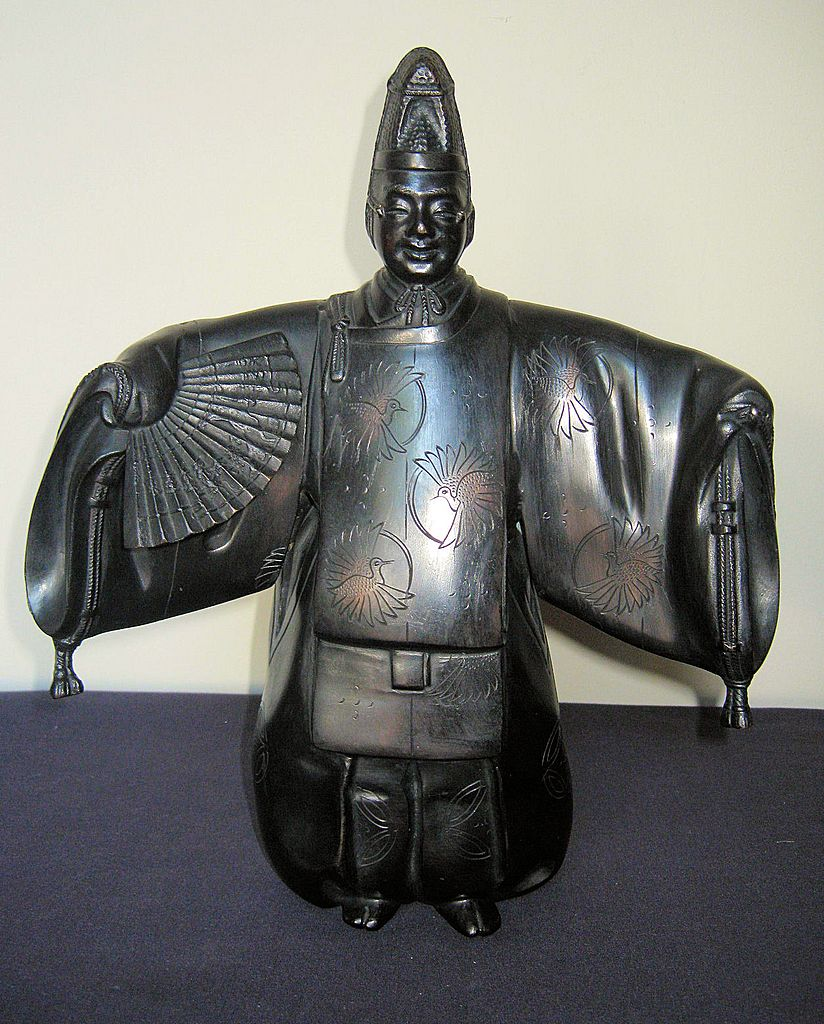 Early 20th Century Japanese Bronze Noh Dancer