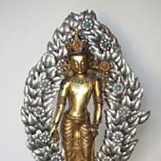 Superb Nepalese Bronze Avalokitesvara Statue