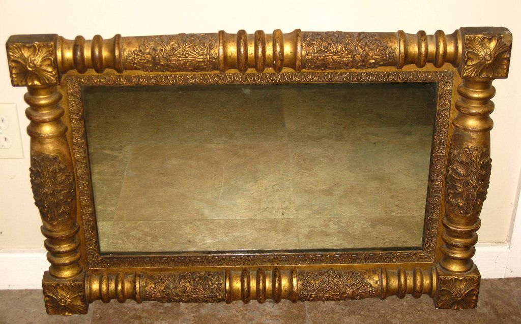 Old Italian Gilt Wood Mirror Frame : Dynasty Collections & Antiques ...