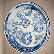 Japanese Arita Porcelain Blue and White Bowl