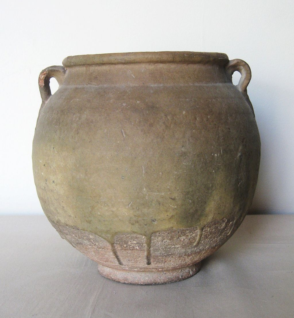 Chinese Coiled Pottery Jar