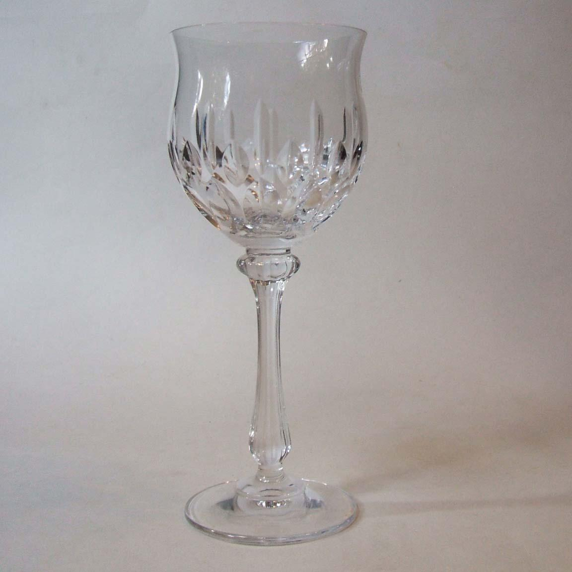 Mikasa Normandy Three Wine Glasses 7 1 8 Inch Crystal