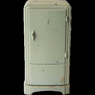 Vintage Electrolux Mini Metal Refrigerator Advertising Still Coin Bank 4019-5 Super Cast