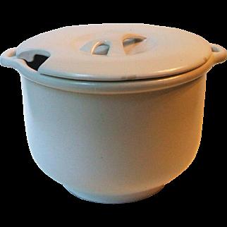 Vintage Bennington Potters Vermont 1891 White Soup Tureen David Gil