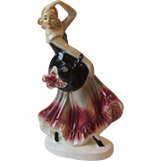 Vintage Germany Spanish Flamenco Lady Dancer Figurine