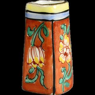 Antique Dollhouse Vase with Square Base