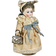 French Metal Bag for your Mignonette or Fashion Doll with Portraits