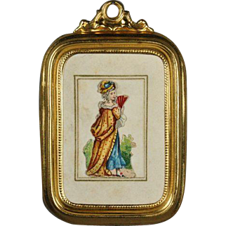 Miniature Ormolu Frame by Erhard & Sohne