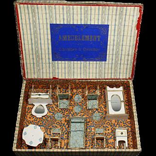 French Dollhouse Furniture in Original Box