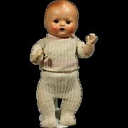 Composition German clockwork Walking Baby Doll