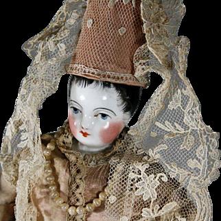 Porcelain Fortune-Teller Doll for the French Market