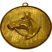 Vintage Signed WINNARD Gold Filled Horse Pendant