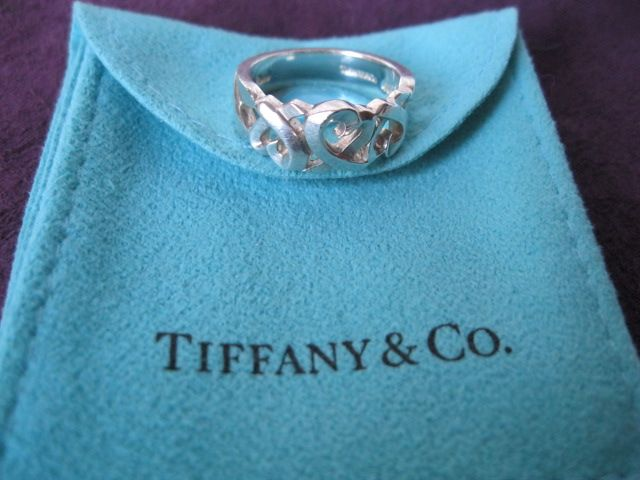 Item 714612 111 Tiffany Co X22paloma Picassox22 Sterling Silver Tiffany Rings Loving Heart