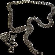 Vintage Clear Rhinestone Adjustable Length Belt