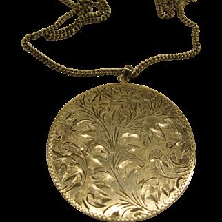 Vintage 950 Sterling Silver Necklace Pendant