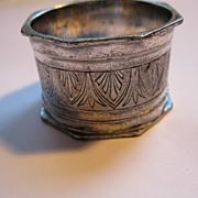 Antique Victorian Silverplate Napkin Ring