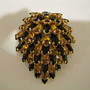 Vintage Signed KRAMER Of New York Fur Clip Pin