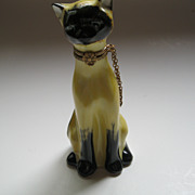 Signed Limoges Box Sitting Cat