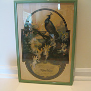 1920's Framed Djer-Kiss Ad from The Ladies Home Journal