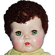 Vintage 15 Inch 1950s American Character Tiny Tears Baby Doll