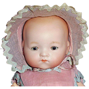 Antique German AM 341 Composition Body Character Baby Doll