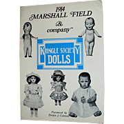 1914 Marshall Field and Company Kringle Society Dolls Book
