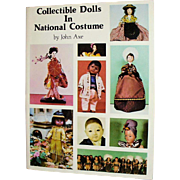 Book Collectible Dolls In National Costume by John Axe