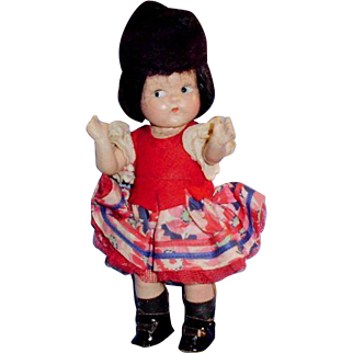 Vogue Composition Toddles Vintage Toodles Russia Doll