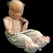Vintage 1950s Sleepy Baby