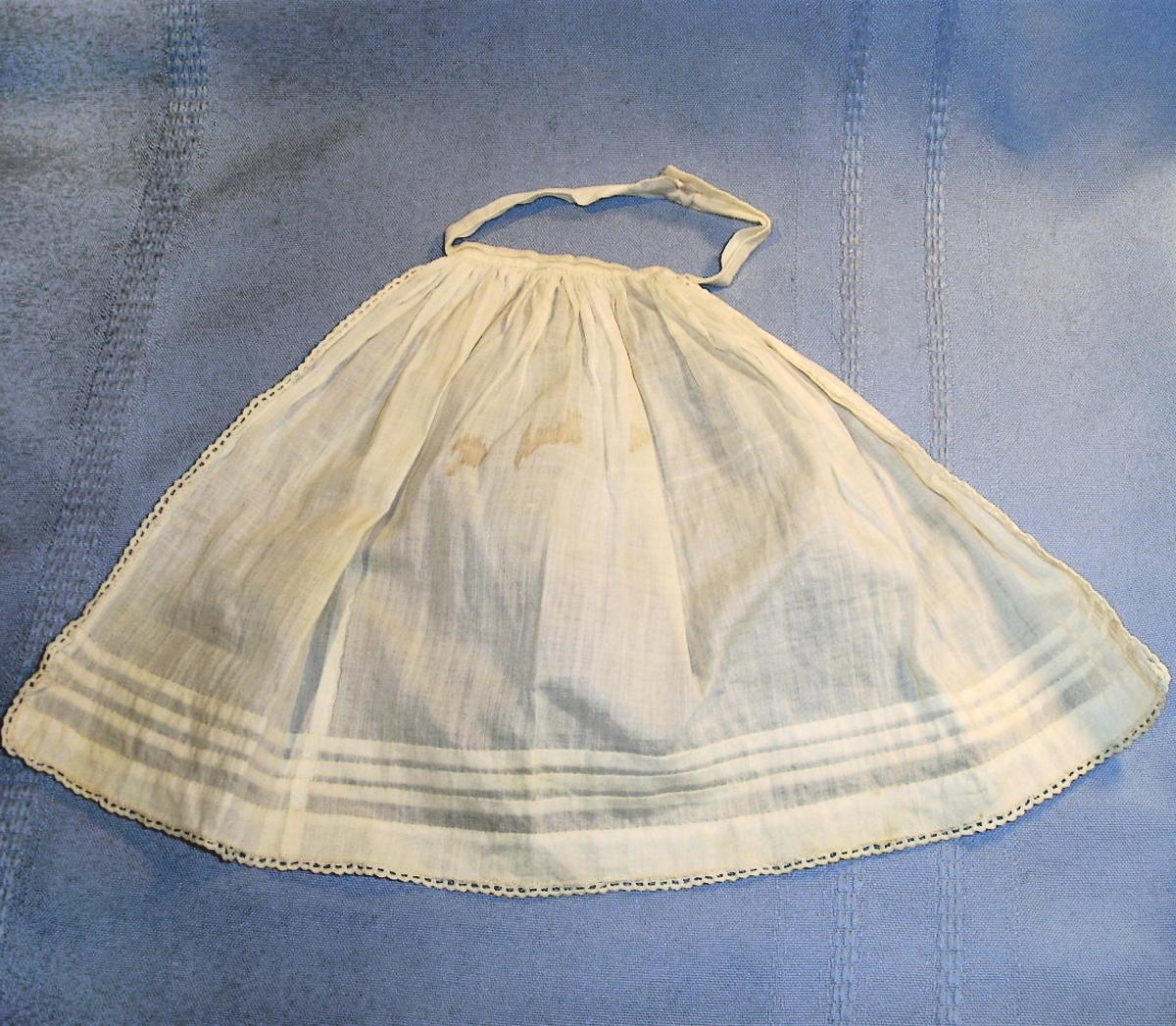 White apron lace trim - Roll Over Large Image To Magnify Click Large Image To Zoom