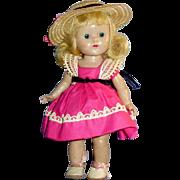 Vintage SLWHard Plastic Ginny Vogue Doll