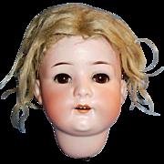 Antique German Heubach Kopplesdorf 312 Bisque Doll Head