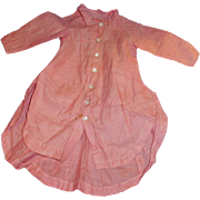 Antique Dark Pink Fitted Cotton Fashion Doll Jacket