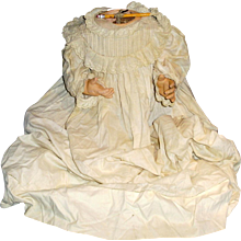 Large Antique German Composition Baby Doll Body