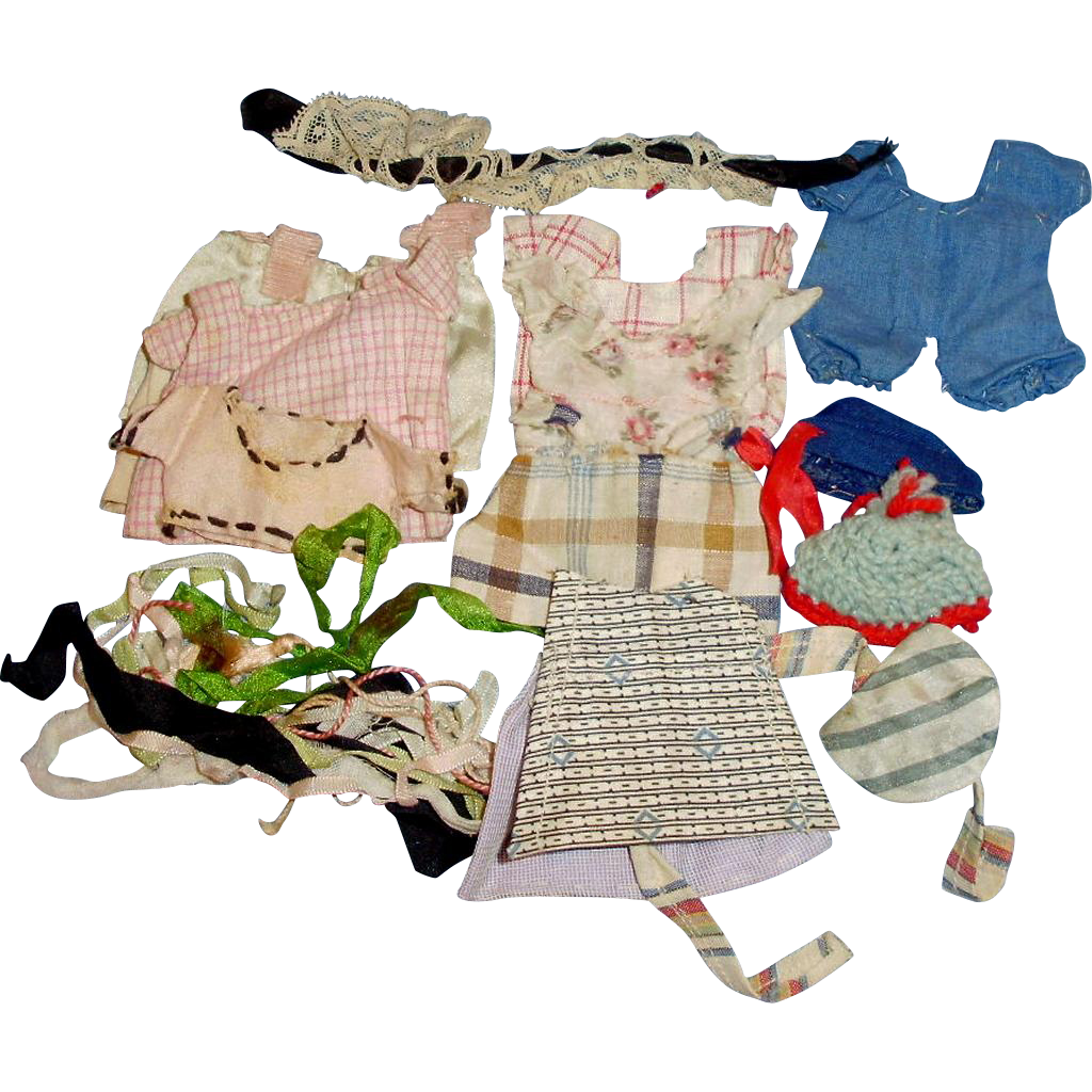Antique Small Doll Clothing For All Bisque Doll