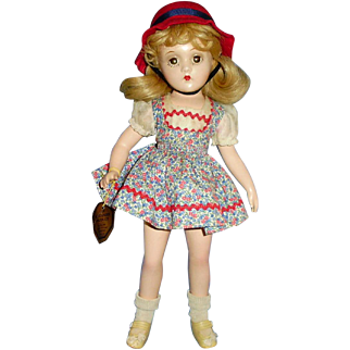Composition Madame Alexander Original Wendy Ann Child Doll With Hang Tag