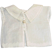 1890's White Cotton Doll Fashion Blouse