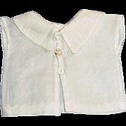 1890's White Cotton Doll Fashion Blouse