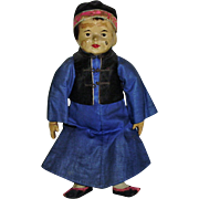 10.5 Inch Painted Cloth Five Finger Ching Doll