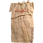 Antique German Linen Factory Doll Chemise