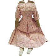 14 in Antique 1800s Dressed Cloth Doll Body
